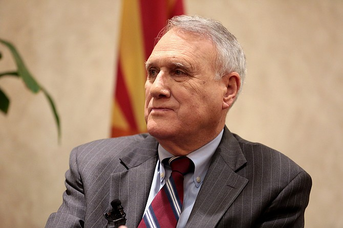 Arizona Gov. Doug Ducey appointed former Sen. Jon Kyl to fill the late John McCain's U.S. Senate seat on Tuesday, but said he has only committed to serve until the end of the year.