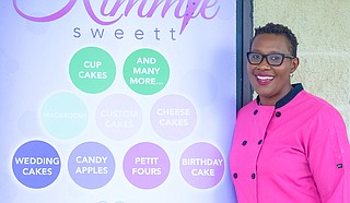Kimberly Ruffin owns and operates local bakery Kimmiesweett, which she started as a home business around 2008 and expanded with a Northpark Mall storefront in 2017. Now located in Fannin Mart in Brandon, the bakery is growing to offer cake-decorating classes, coffee and more.