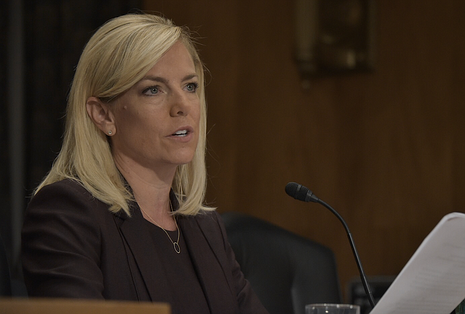 """""""Today, legal loopholes significantly hinder the department's ability to appropriately detain and promptly remove family units that have no legal basis to remain in the country,"""" Homeland Security Secretary Kirstjen Nielsen said. """"This rule addresses one of the primary pull factors for illegal immigration and allows the federal government to enforce immigration laws as passed by Congress."""""""