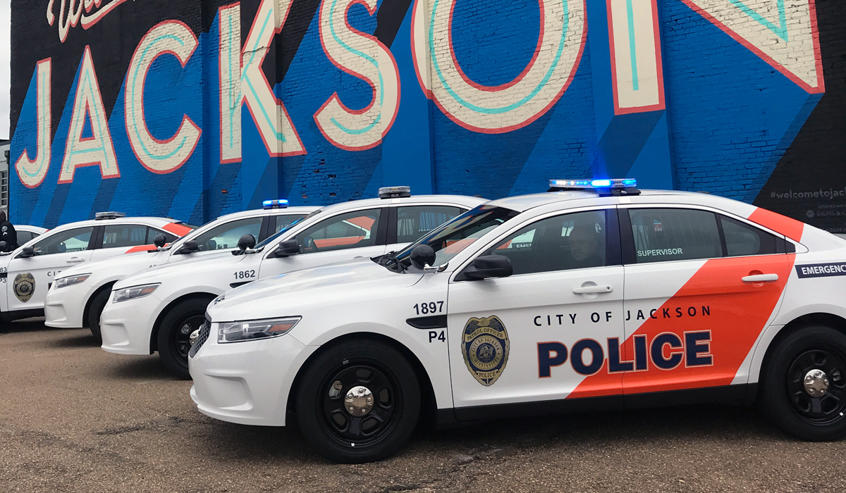 JPD Targets Morale; Unveils $1.3-Million Fleet of New, Bold Police Vehicles