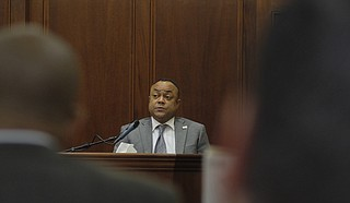 Hinds County District Attorney Robert Shuler Smith waived his Fifth Amendment rights and took the witness stand in his Rankin County trial for aggravated stalking and robbery charges from a 2015 incident with an ex-girlfriend.