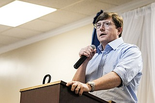 Democratic U.S. Senate candidate David Baria, who serves as the House minority leader in the Mississippi Legislature, called for halt in the process to confirm U.S. Supreme Court nominee Brett Kavanaugh after the Senate's Sept. 27 hearings on sexual assault allegations.