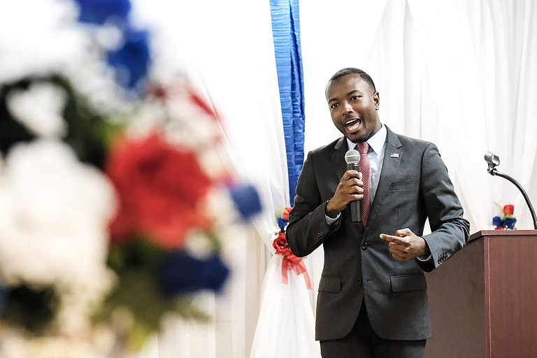 State Rep. Jeramey Anderson, D-Moss Point, is a candidate for Republican Rep. Steven Palazzo's 4th Congressional District seat.