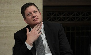 A jury on Friday convicted white Chicago police Officer Jason Van Dyke (pictured) of second-degree murder in the 2014 shooting of black teenager Laquan McDonald. Photo courtesy Antonio Perez/Chicago Tribune via AP Pool