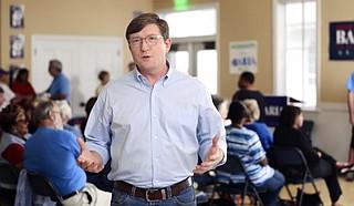 Democratic U.S. Senate candidate David Baria announced a five-figure ad buy Wednesday, Oct. 10. Photo courtesy Baria for Mississippi