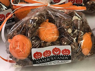 Businesses such as Nandy's Candy will have treats for Halloween. Photo courtesy Nandy's Candy