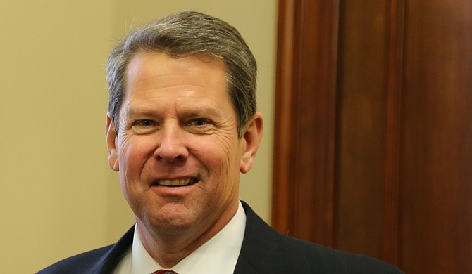 Republican nominee Brian Kemp made the allegation just as reports emerged of a gaping vulnerability in a system that he controls as secretary of state. Photo courtesy Flickr/U.S. Sen. David Perdue