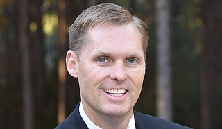 The GOP's Michael Guest (pictured) of Brandon seeks to retain his party's control of the district that runs across 24 counties from Natchez through the Jackson suburbs and farther northeast to Starkville. Guest's opponents are Democrat Michael Ted Evans of Preston and Reform Party member Matthew Holland. Photo courtesy Michael Guest Campaign