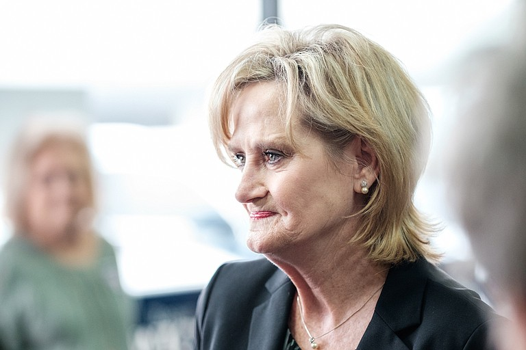 """Google donated $5,000 to U.S. Sen. Cindy Hyde-Smith's campaign just days after a controversy erupted involving remarks in which she said she would """"be on the front row"""" at """"a public hanging."""""""