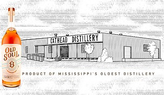 Cathead Distillery began selling its new bourbon whiskey, Old Soul, in liquor stores on Nov. 16. Photo courtesy Cathead Distillery