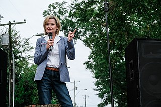 """Republican U.S. Sen. Cindy Hyde-Smith returns to Washington as a solidly loyal supporter of President Donald Trump after he stumped for her in a divisive Mississippi runoff shaped by her video-recorded remark about """"public hanging."""""""