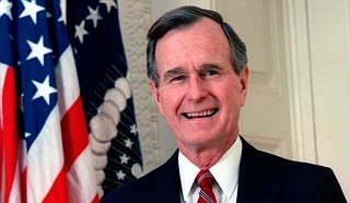 George H.W. Bush, who was president from 1989 to 1993, will lie in state beneath the soaring U.S. Capitol rotunda for a ceremony and public visitation from Monday through Wednesday. Photo courtesy U.S. Government