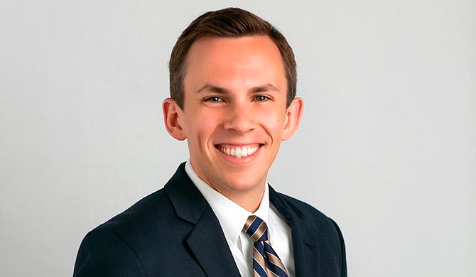 The Republican appointed to become Mississippi auditor last year is now running for a full four-year term. Shad White filed his qualifying papers Tuesday at the state Republican Party headquarters. Photo courtesy Mississippi Center for Public Policy