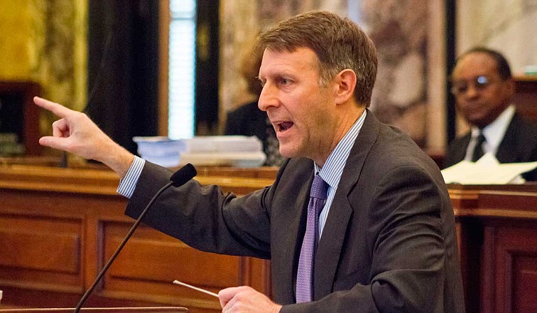 Sixth-term Sen. Gray Tollison was unanimously elected Senate president pro tempore on Friday by colleagues from both parties. He succeeds Republican Sen. Terry Burton of Newton, who had been pro tem the past three years.