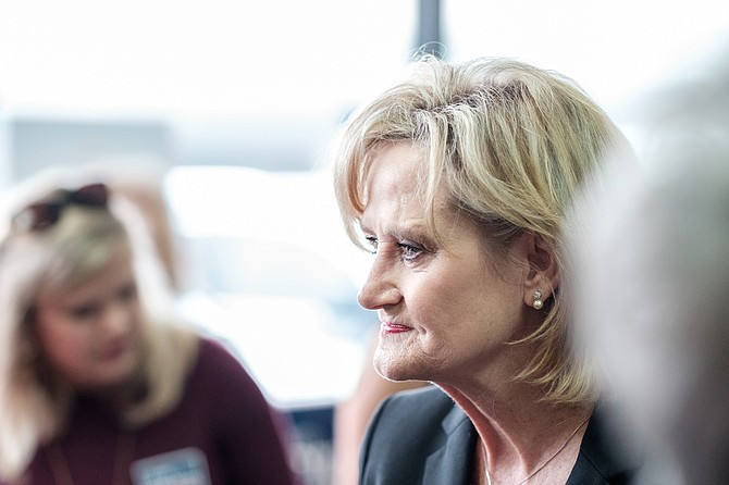 Mississippi Sens. Cindy Hyde-Smith (pictured) and Roger Wicker were among the senators who voted against reopening the government.