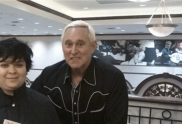 Roger Stone, a confidant of President Donald Trump, was arrested in the special counsel's Russia investigation in a pre-dawn raid at his Florida home Friday on charges that he lied to Congress and obstructed the probe. Photo courtesy Wikicommons