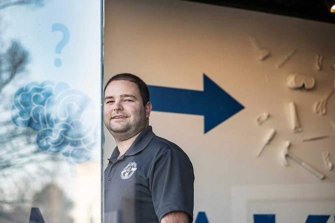 The Mississippi State University Center for Entrepreneurship and Outreach recently named Michael Lane, who graduated from MSU in December 2018 with a bachelor's degree in mechanical engineering, as program coordinator for MSU's new Idea Shop. Photo courtesy Megan Bean/MSU