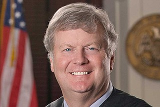 Griffis had served on the state Court of Appeals since January 2003 and was that court's chief judge for the past month. Gov. Phil Bryant appointed him to succeed Bill Waller Jr. of Jackson, who retired from the Supreme Court on Jan. 31. Photo courtesy Mississippi Judiciary