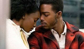 """""""If Beale Street Could Talk,"""" based on the James Baldwin novel of the same name, stars Stephan James  as Alonzo """"Fonny"""" Hunt and KiKi Layne as Clementine """"Tish"""" Rivers. The story follows the couple as they  seek to clear Fonny's name of wrongful charges. Photo courtesy Annapurna Releasing, LLC"""