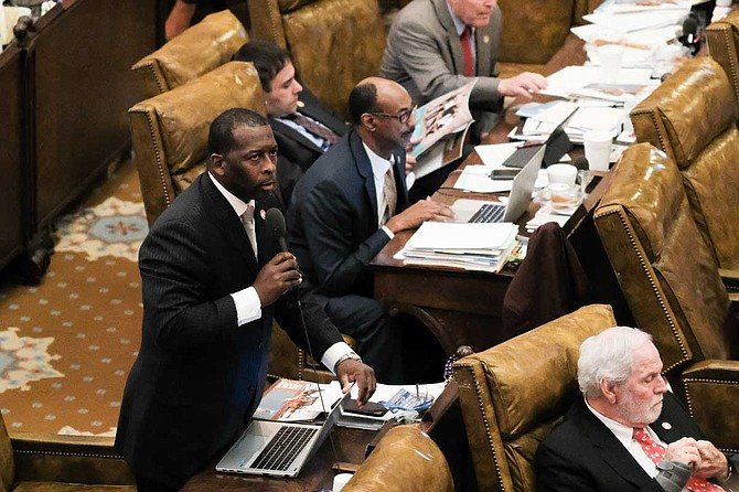 Rep. Chris Bell, D-Jackson, argued against a bill to shield the identity of police officers involved in shootings. It passed with an amendment to require the release of their names after six months, which would make Mississippi one of the least transparent in the nation on officers who shoot people.