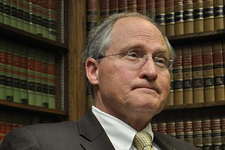 Retired state Supreme Court Justice Bill Waller Jr. confirmed Wednesday that he plans to run for Mississippi governor as a Republican. File Photo by Trip Burns