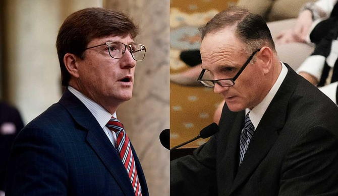 Democratic House Minority Leader David Baria criticized a GOP tort-reform bill and an amendment Rep. Mark Baker, R-Brandon, introduced. The bill and the amendment would make it more difficult for victims to sue property owners for negligence, he said.