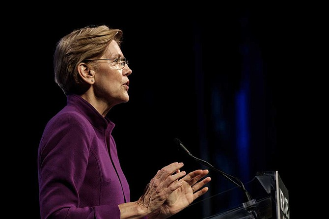 Jackson State University says U.S. Sen. Elizabeth Warren of Massachusetts will participate in a March 18 forum that will be televised on CNN.