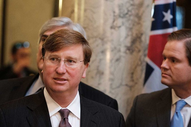 In his successful 2003 bid for state treasurer, critics accused current-Republican Lt. Gov. Tate Reeves (pictured) of running ads designed to remind voters that his Democratic opponent, Gary Anderson, was black. Reeves denied the allegations.