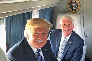 U.S. Sen. Roger Wicker, R-Miss., voted against President Donald Trump's declaration of a national emergency to build a border wall on March 14, 2019. Photo courtesy Sen. Roger Wicker's official Twitter account