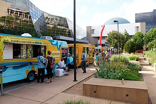 MMA launched the Food Truck Festival in 2014 as part of the May edition of Museum After Hours, which takes place on the third Thursday of each month from 5:30 p.m. to 10 p.m.