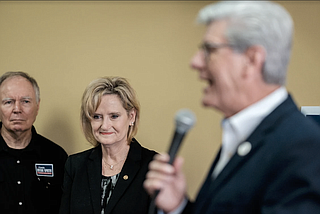 """Floodwaters """"have placed a tremendous burden on the lives and property of thousands of Mississippians,"""" Sen. Cindy Hyde-Smith, said at a hearing on flooding in the Mississippi Delta. Gov. Phil Bryant said flooding has affected more than 1,100 homes."""