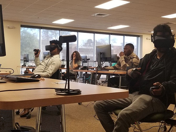 The Lobaki VR Academy offers courses that teach elements of VR programming and coding such as set and level design, digital modeling, animation, lighting, sound, character creation and more. Photo courtesy Lobaki
