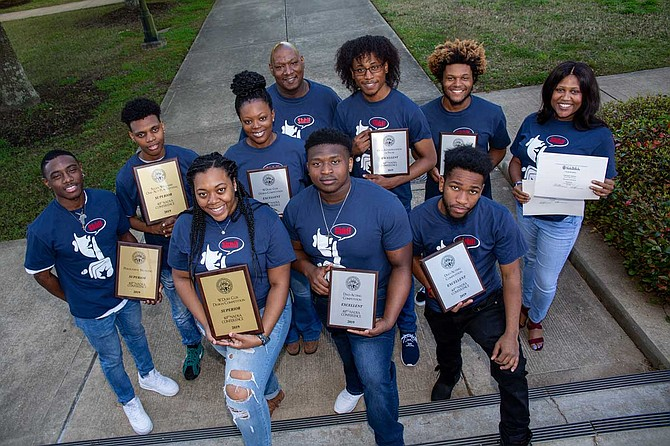 JSU's MADDRAMA performance troupe took home more awards than any other school at this year's National Association of Dramatic and Speech Arts Conference. Photo by Charles A. Smith/JSU