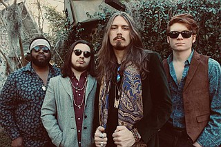 Gulfport, Miss., native Magnolia Bayou is one of several bands that is attracting notice from outside the state. The band is embarking on a national tour, which includes a stop at Jackson's Duling Hall on Friday, April 19. Photo by Piper Leith