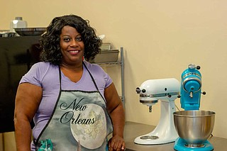 Regina Wallace opened Heavenly Sweetz Bakery at The Hatch in midtown in October 2018. Photo by Acacia Clark