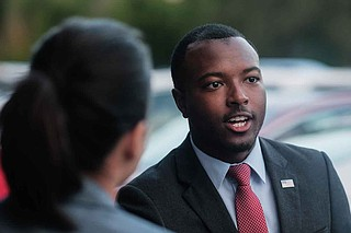 """Mississippi state Rep. Jeramey Anderson, D-Moss Point, called on Louisiana to """"leave Mississippi out of its abortion debate"""" on Wednesday."""