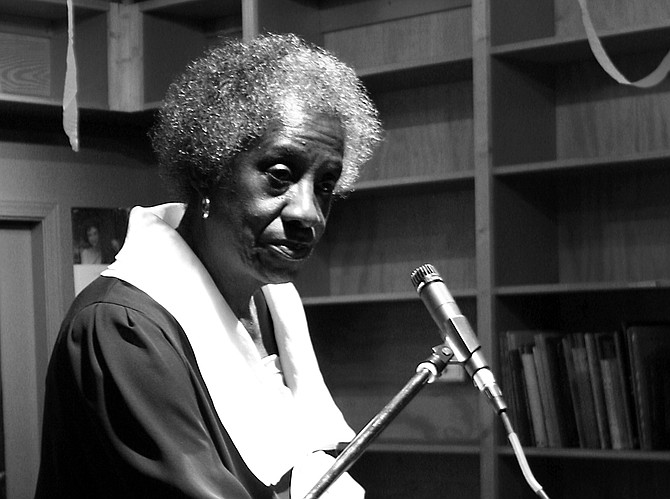 Unita Blackwell, a civil rights activist who was the first African American woman to win a mayor's race in Mississippi, has died. Photo by William Patrick Butler