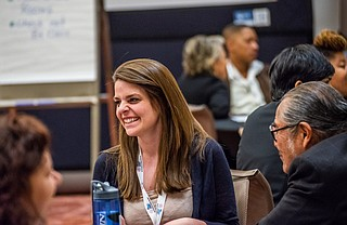 Sarah Stripp of Springboard to Opportunities in Jackson, is in the second WKKF Community Leadership Network. Photo by Alexander Woldeab