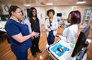 The University of Mississippi Medical Center's School of Nursing has partnered with the G.V. (Sonny) Montgomery V.A. Medical Center in a program that will give some nursing students more clinical experiences, a UMMC release says. Photo courtesy University of Mississippi Medical Center