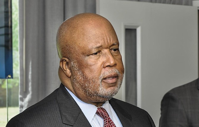 "The Democratic chairman of the House Homeland Security Committee, Bennie Thompson of Mississippi, said shifting airport workers to the border was ""the contrived manufacturing of a crisis to the detriment of the TSA."" File Photo by Trip Burns"