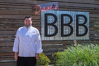 David Raines never thought he would open a barbecue restaurant, but with help from dad's farm, he created Dave's Triple B, specializing in Wagyu beef.