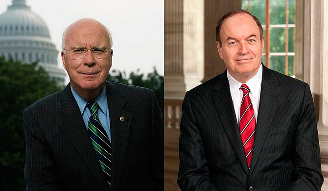 Democratic Sen. Patrick Leahy of Vermont (left) and Republican Sen. Richard Shelby of Alabama (right) are scheduled to speak at the service Tuesday at Northminster Baptist Church in Jackson. Photo courtesy U.S. Senate