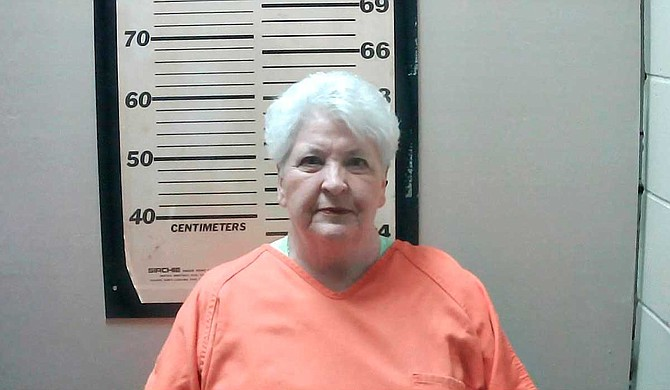 """The Oktibbeha County Sheriff's Department says 70-year-old Ruby Nell Howell of Starkville turned herself in Tuesday and was released on bond. A sheriff's department news release says Howell faces a misdemeanor charge of """"threatening exhibition of a weapon."""" Photo courtesy Oktibbeha County Sheriff's Department"""