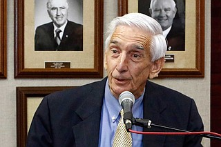 A source who spoke directly to law enforcement about the investigation but was not authorized to discuss the matter publicly told The Associated Press that the case involves the death of the Rev. Harry Noble Gipson (pictured), the father of Commissioner Andy Gipson. Photo by Rogelio V. Solis via AP