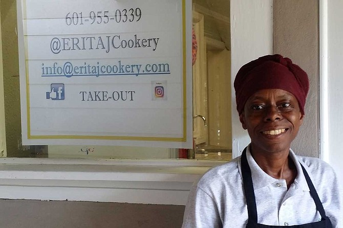 """Felicia Bell, a Brandon native and owner of RD&S Farm, opened """"Eritaj Cookery, a Restorative Food Cafe"""" on Monday, June 3, at the Kundi Compound in Jackson. Photo courtesy Felicia Bell"""
