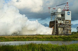 The company will lease space from NASA at Stennis Space Center on the Mississippi Gulf Coast. The facility has long hosted rocket tests. Photo courtesy Stennis Space Center