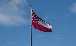 """""""The ball is in your court, Mississippians. It's time for us to stand together and elect a governor who will take down the Confederate flag in Mississippi."""" Photo courtesy Flickr/Diversey"""