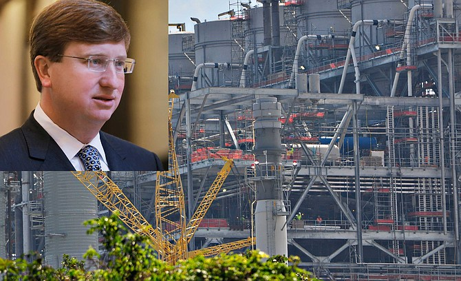 Mississippi Lt. Gov. Tate Reeves, a Republican candidate for governor this year, helped push through a $1 billion bond to fund construction of the Kemper plant in 2013. File Photos by Imani Khayyam and Trip Burns