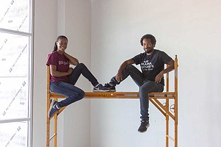 T'Keyah Williams and Michael McElroy own Mama Nature's Juice Bar, which will have a second location at Fondren Fitness once it opens.