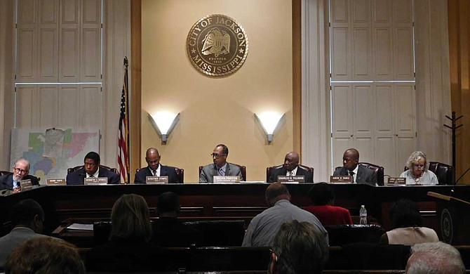 Jackson City Council members discussed the renaming of Terry Road Pool to Hertz Pool at the June 27 city council meeting. Photo by Josh Wright